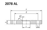 Купить фланцы из нержавеющей стали AISI 304