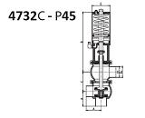 Клапаны седельные из нержавеющей стали, нержавеющие клапаны седельные | Каталог продукции NIOB | Клапаны седельные угловой, L-T- тип, пневмопривод для седельного клапана